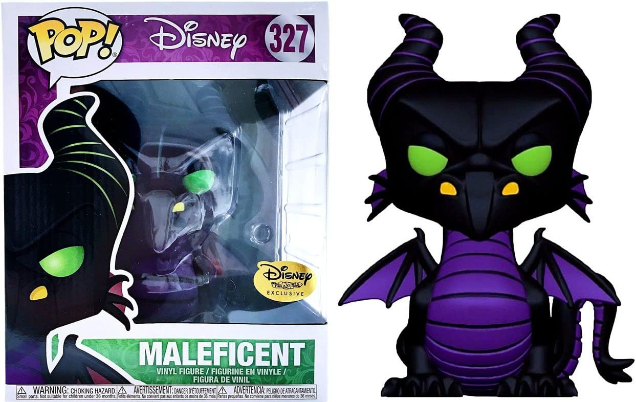 Maleficent Vinyl Figure,Multi-colored Funko Pop Disney Maleficent Movie