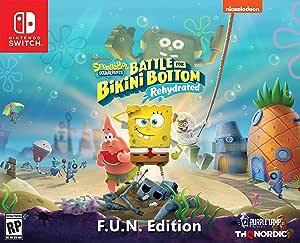 Spongebob Squarepants: Battle for Bikini Bottom - Rehydrated - F.U.N. Edition (Nintendo Switch) - Nintendo Switch F.U.N. Edition