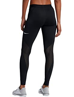 Nike Damen Pro Hypercool Tights, Black/White, XL: Amazon.de: Sport ...