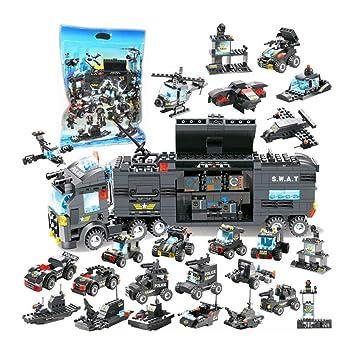 Compatible Avec Police Voiture Pour Lego City Enfants De VzqpLSUGM