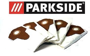5 bolsas de aspiradora Fieltro/Bolsas para polvo fino polvo Parkside Lidl mojado aspiradora en
