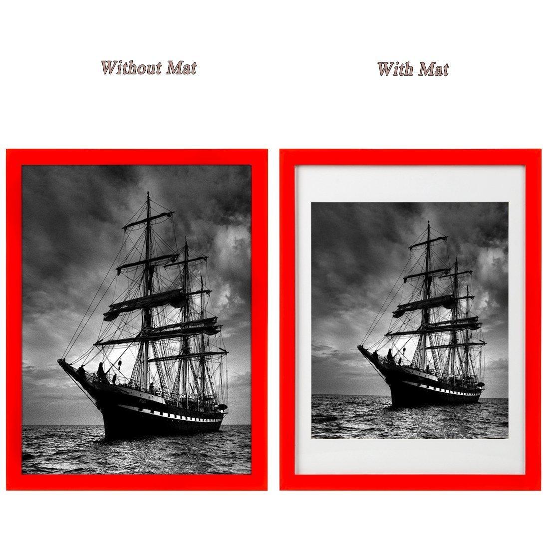 Amazon.de: BOJIN Bilderrahmen 30 x 40 CM Posterrahmen 12x16 Inch ...