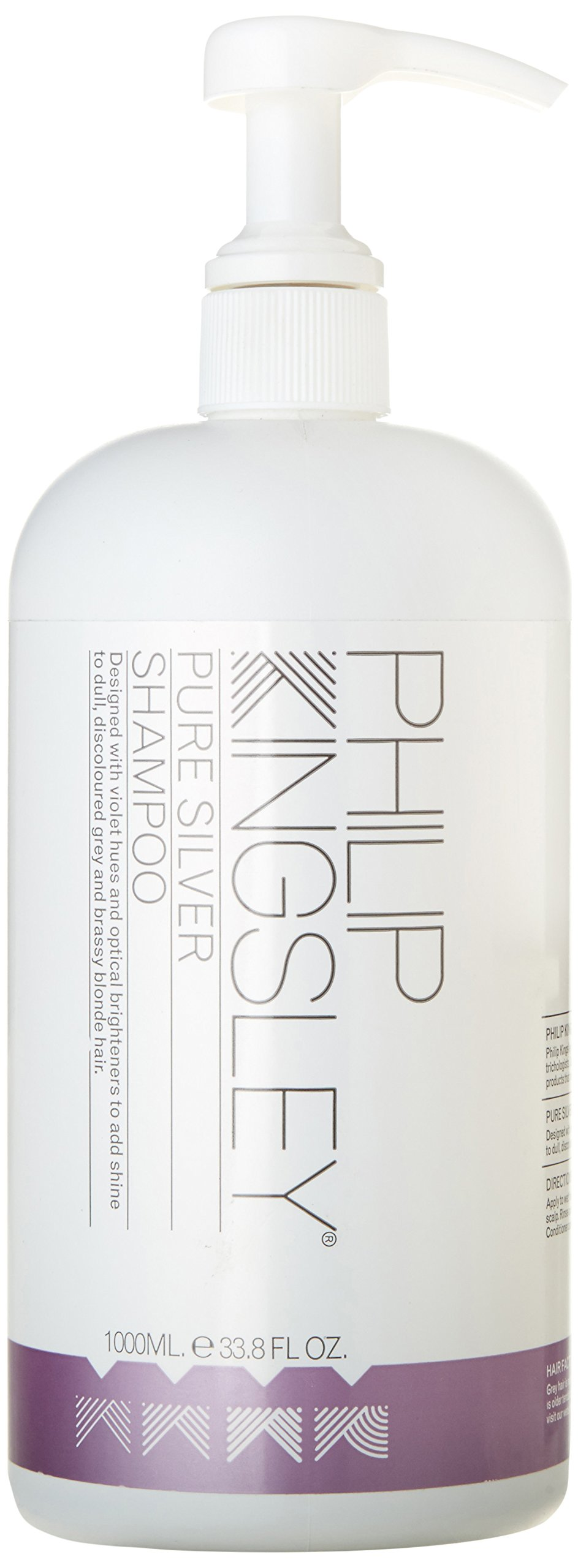 Philip Kingsley Pure Silver Shampoo for Dull, Discoloured Grey Hair and Brassy Blonde Hair, 33.8 Ounce by Philip Kingsley