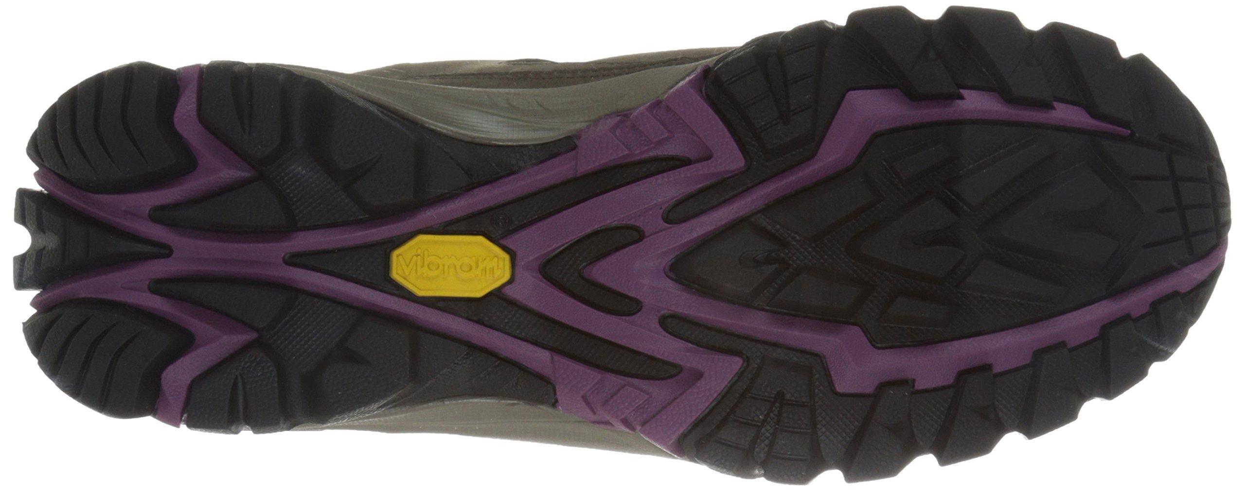 Vasque Women's Talus Trek Low UltraDry Hiking Shoe, Black Olive/Damson, 8.5 M US by Vasque (Image #3)