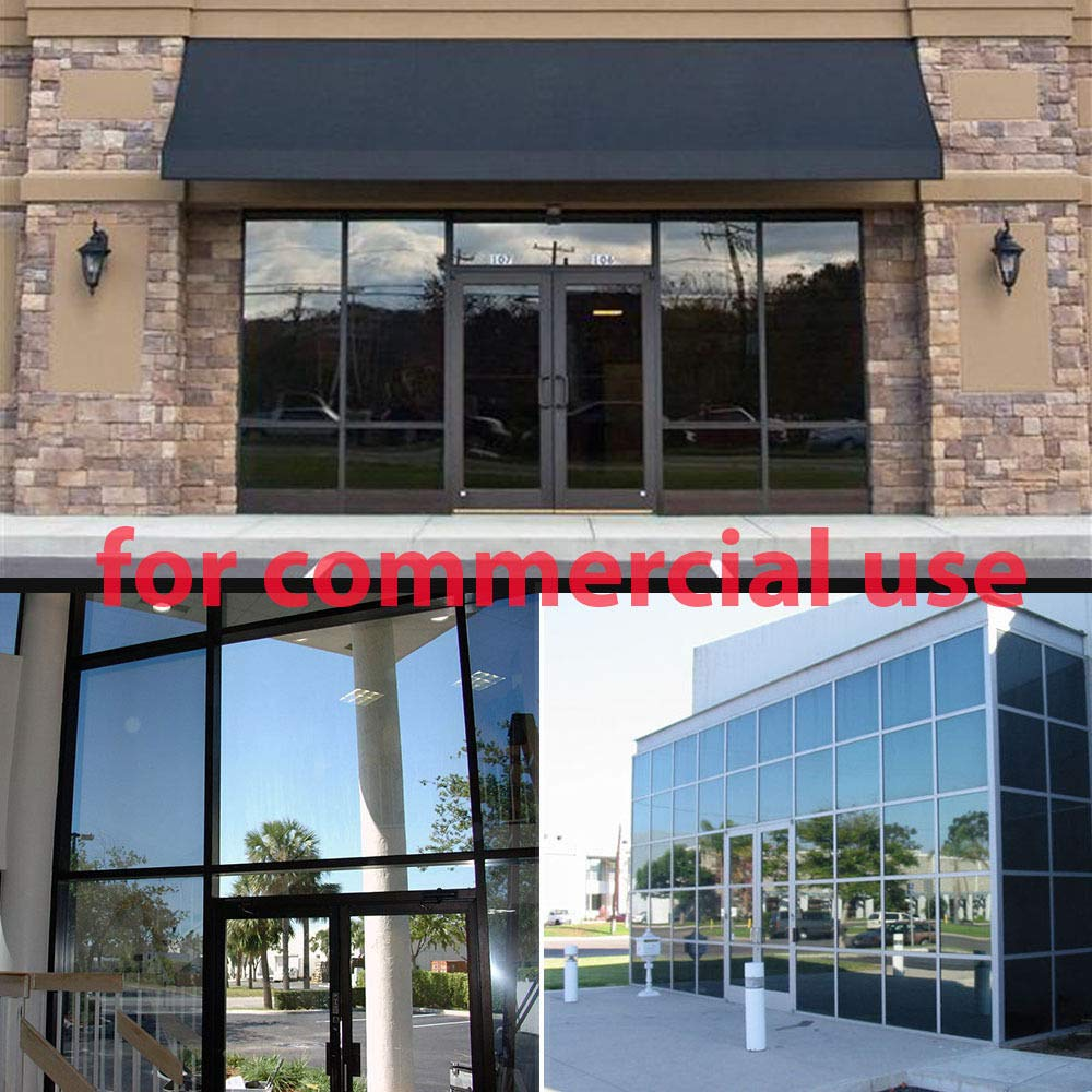 600cm elegantstunning Uncut Roll Window Tint Film 50/% VLT Car Home Office Glass Film 50