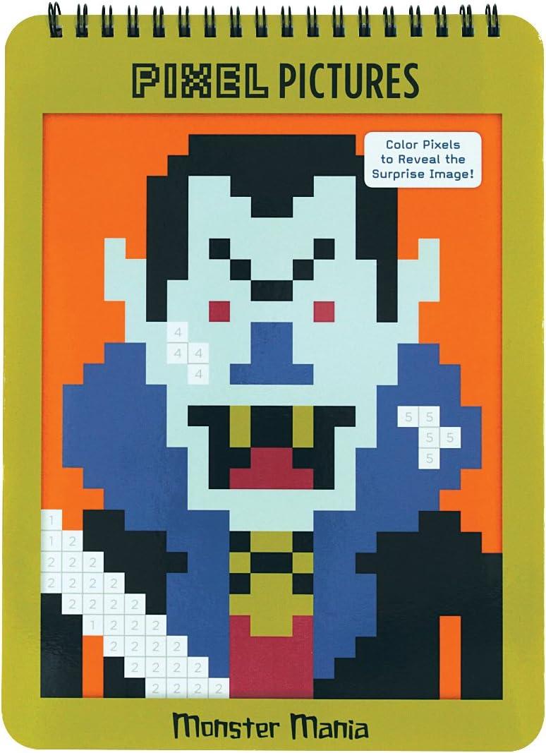 Monster Mania Pixel Pictures: Amazon.es: Juguetes y juegos