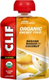 CLIF Organic Energy Food - Sweet Pouches - Banana Mango with Coconut - (4.23 Ounce Pouch, 6 Count)