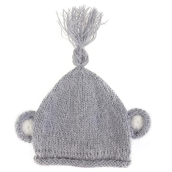 Cappello Neonato Invernale di Domybest Cappello Neonato Carino con Orecchie  di Lana a Maglia per Neonati  Amazon.it  Abbigliamento 262055278627