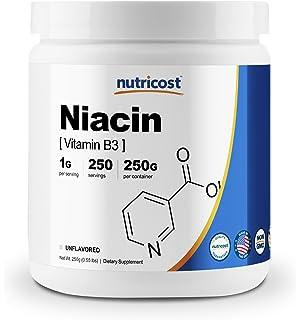 Amazon com: Bulksupplements Niacin (Vitamin B3) Powder (1 kilogram
