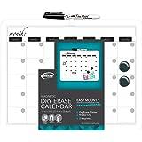 """Board Dudes 11"""" x 14"""" Plastic Framed Magnetic Calendar (CYM19)"""