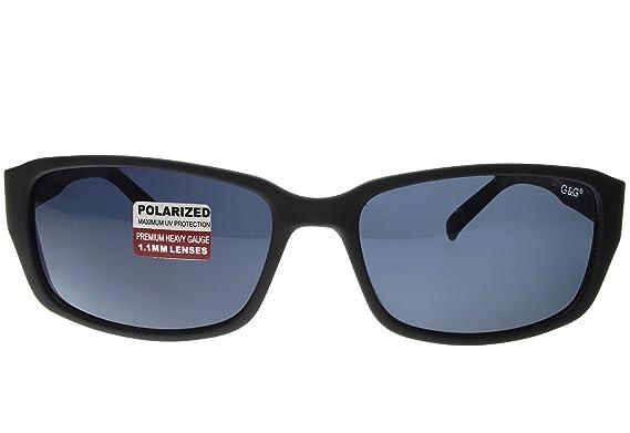 57803d926c Amazon.com  G G Polarized BBST Big Head XXL Extra Wide 160mm Sunglasses  Black Smoke  Clothing