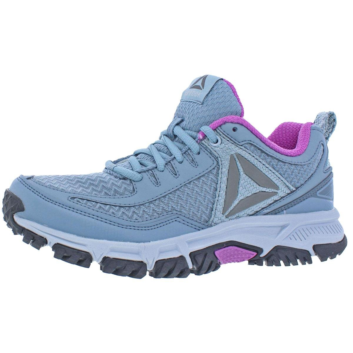 Reebok Women's Ridgerider Trail 2.0 Track Shoe, Meteor Grey/Asteroid Dust/Cloud Grey/Violet/Pewter/Silver, 8.5 M US