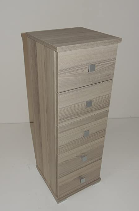 Mueble cajonera Baby madera 5 cajones color pardo arredo ...