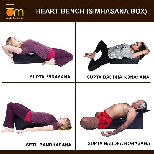 Amazon.com: Amigos de meditación Iyengar yoga Corazón Banco ...