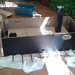 MESA FUTBOLIN MADERA COLOR NEGRO ROBUSTO Y RESISTENTE 60 kg 695 mm x 1165 mm MEDIDAS REGLAMENTARIAS Medidas: largo 140 cm x ancho 88: Amazon.es: Juguetes y juegos