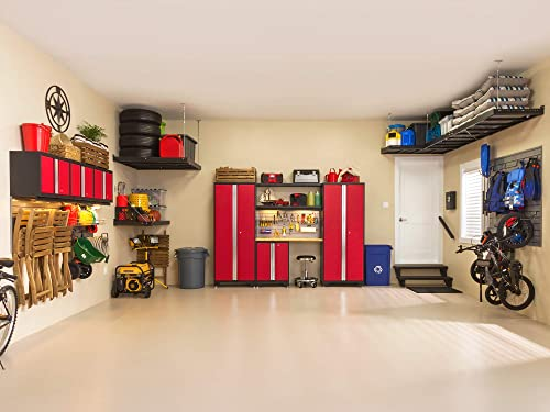 NewAge Products Bold Series Red 12 Piece Set, Garage Cabinets, 56400