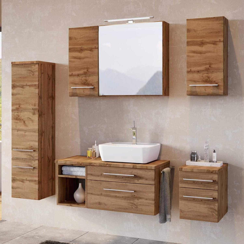 Lomadox Badezimmer Möbel Konfigurator Wotaneiche Nb. Jetzt selbst