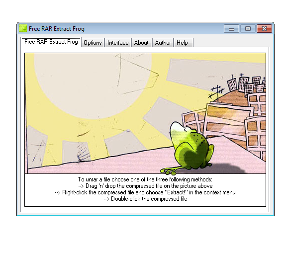 Free RAR Extract Frog [Download]