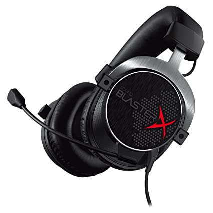 Creative Sound BlasterX H5 Cuffie con Microfono da Gioco Analogiche  Professionali 3f03e94a86d7