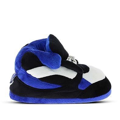 9d5c4e04619a0 Sleeper z - Chaussons Sneakers - Adulte Homme Femme - Cadeau original -  Bleu et