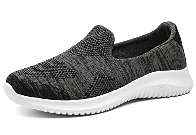 711255d0590f8 Women's Slip-On Shoes Casual Mesh Walking Sneakers Comfortable Shoes