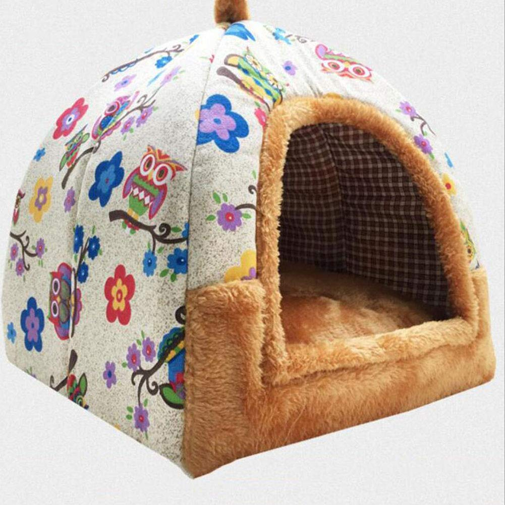 C Doghouse Four Seasons Available Removable Washable Pet Nest Summer Cat Room (color   C)