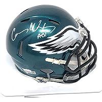 $189 » Carson Wentz Philadelphia Eagles Signed Autograph Speed Mini Helmet Helmet Steiner Sports Certified