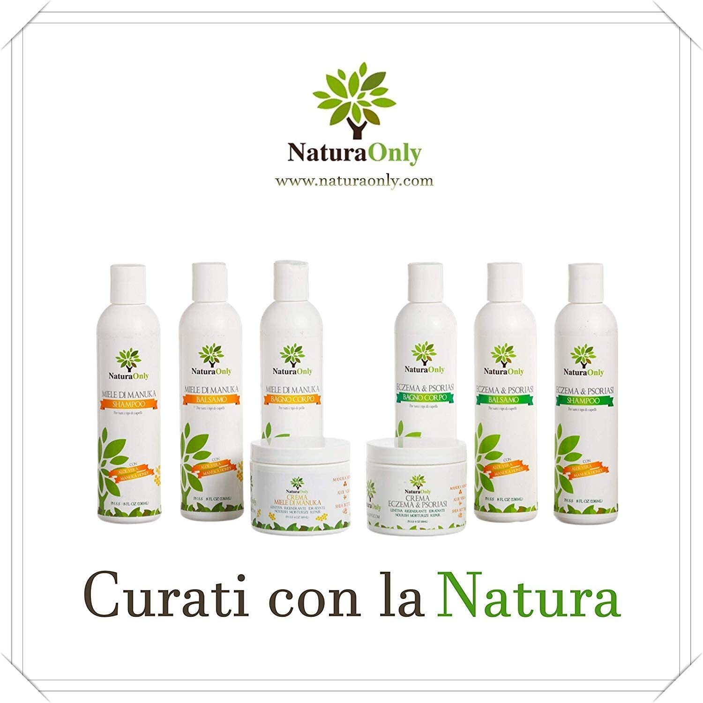 Crema para eccema y psoriasis Natura Only, para pieles secas e ...