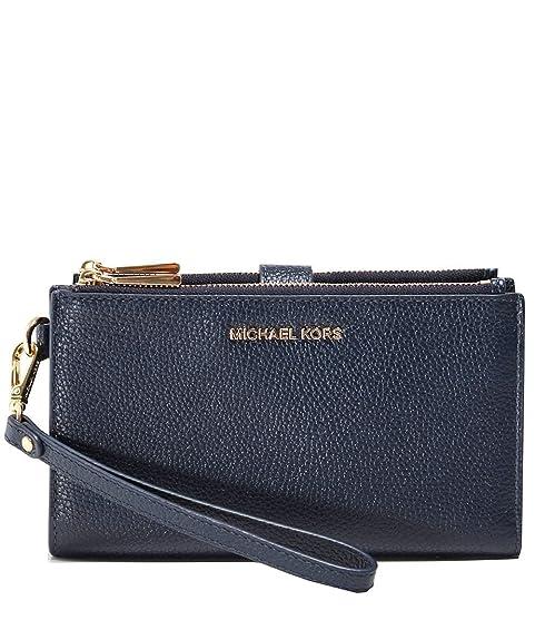 9411e01918 MICHAEL Michael Kors Donna Pochette da polso telefono Pebble Blu Marino  Unica Taglia: Amazon.it: Scarpe e borse