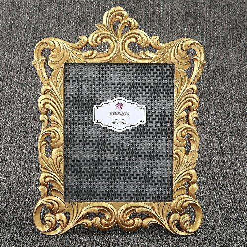 6 Baroque Gold Openwork 8 x 10 Frames by Fashioncraft