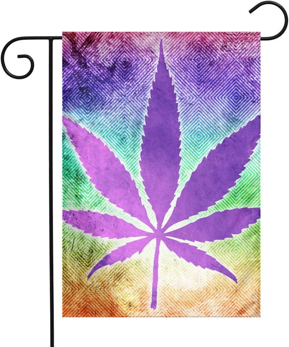 LQLDHJ 622 Garden Flag Stand Banner Outdoor Decor for Homes Gardens 12 X 18 Inches