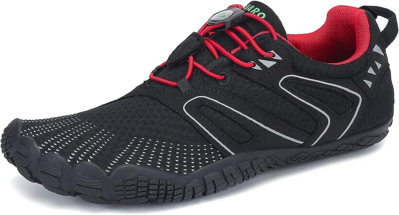 Saguaro Mens Womens Minimalist Trail Running Shoes Barefoot Walking Wide Toe Box Outdoor Cross Trainer Zero Drop Sole Amazon Ca Shoes Handbags