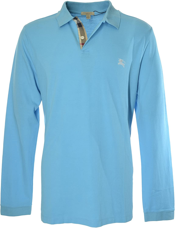 Burberry - Polo - para Hombre Azul Claro XX-Large: Amazon.es: Ropa ...