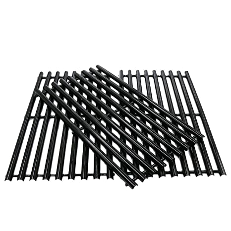 Bbqration Gloss Cast Iron Cooking Grid  For Gas Grill Models Uniflame Gbc1059Wb
