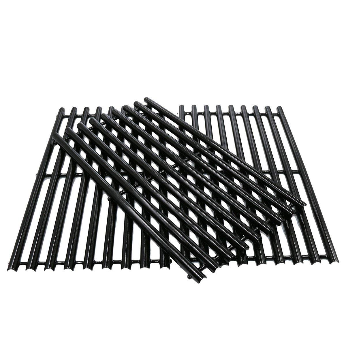 BBQration Porcelain Steel Cooking Grid Replacement for Gas Grill Models Uniflame GBC1059WB and Uniflame GBC1059WE-C, Set of 3