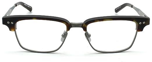 223f02868d1 Dita STATESMAN THREE Unisex Matte Tortoise Frame Eyeglasses DRX 2064-D  52mm  Amazon.ca  Clothing   Accessories