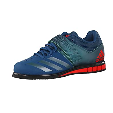 100% authentic 3c8dc 24a68 Adidas Powerlift 3.1 Men s Trainers Weightlifting Shoes (11.5 UK, Petrol  Green Red)