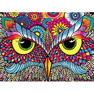 Buffalo Games Owl Eyes Jigsaw Puzzle From The Vivid Collection 1000 Piece By Buffalo Games