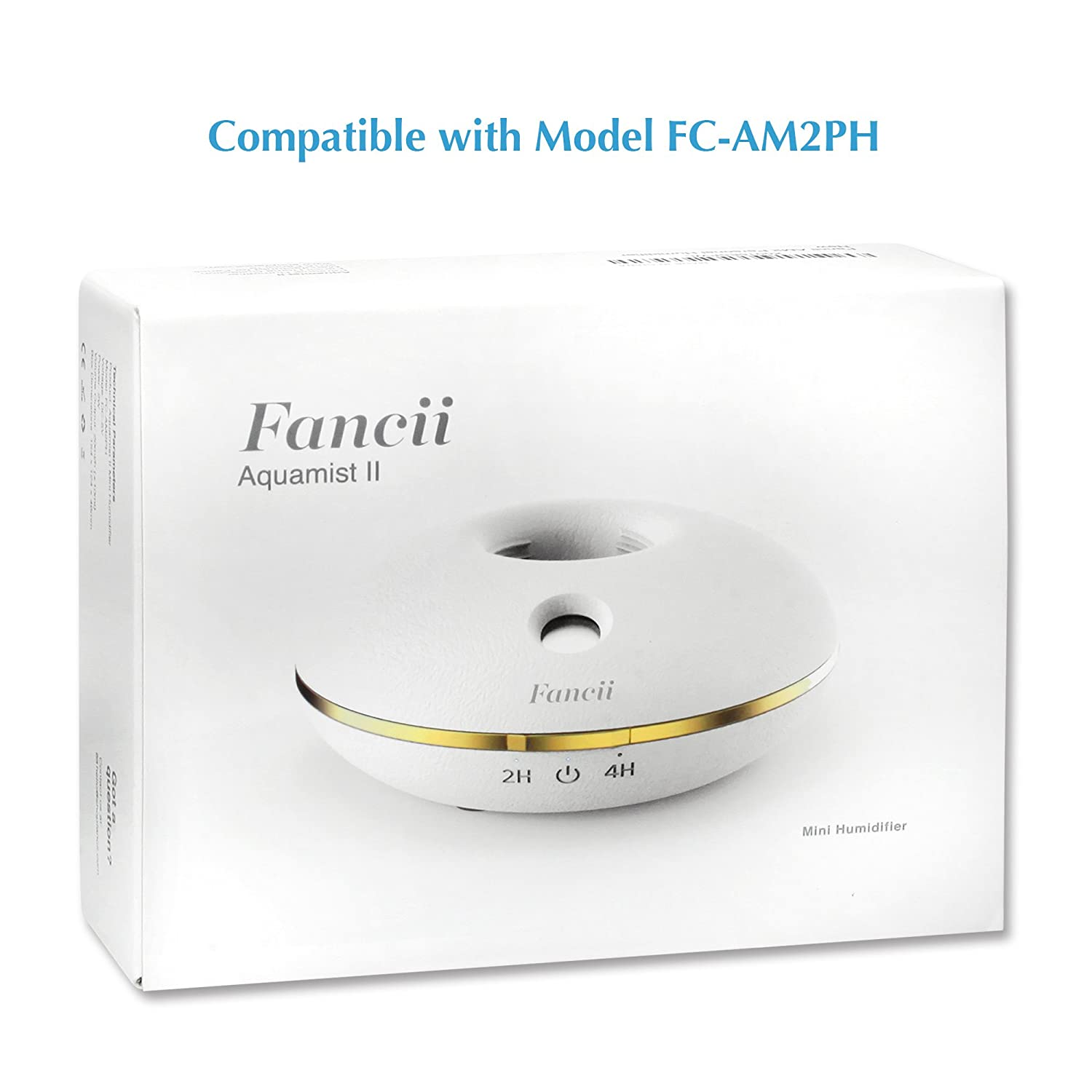 Amazon.com: Fancii Mini Personal Humidifier Replacement Filters (Pack of 5) for Model FC-AM2PH: Home & Kitchen