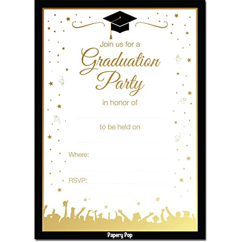 college graduation invitations amazon com