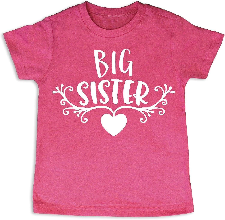 Oliver and Olivia Apparel Big Sister Tee Big Sister Gift Big Sister Shirt Big Sister Top