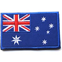Embroidery Each Country's Flag Patch (3''X2'', Australia)