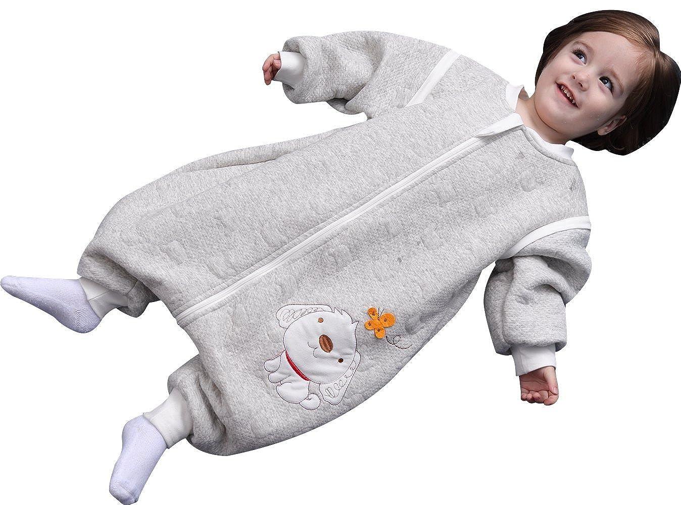 【当店限定販売】 Luyusbaby M Luyusbaby SLEEPWEAR ユニセックスベビー M グレー グレー B075L6SZGN, Will One:a4bf68c0 --- a0267596.xsph.ru