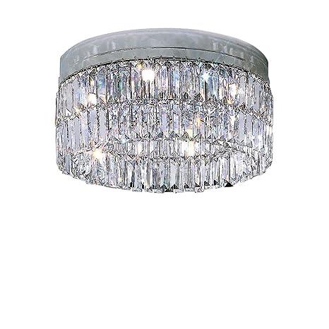 Kolarz - Lámpara de Techo Prisma Cromo a Mano, Made in Italy ...