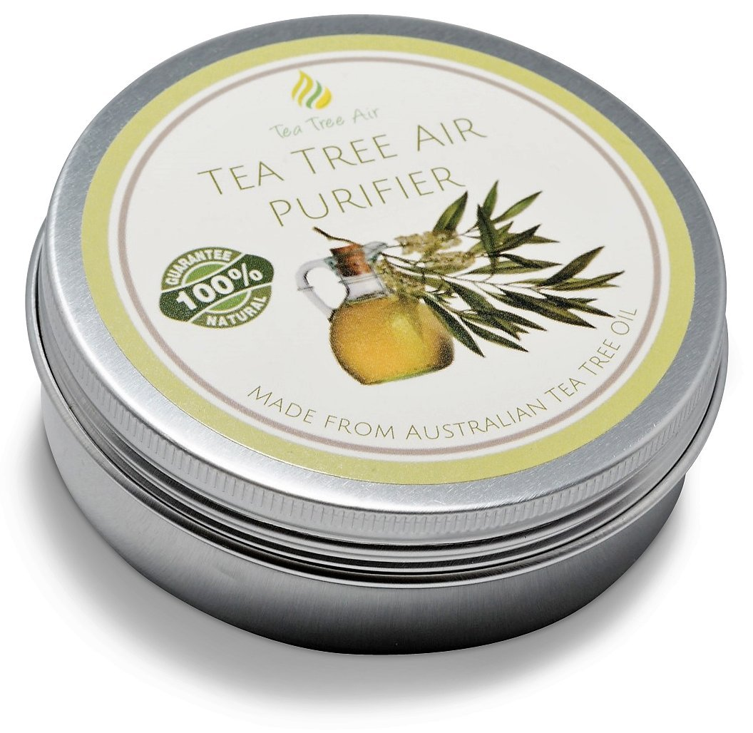 Tea Tree Air Purifier 100% Natural Air Purifier Cream, Kills Mold, Attacks Mildew, Prevents Bacteria, Air Freshener, Air Conditioner - Perfect for home, office, car or boat! ON SALE ✔ (2.2 oz - 62g)