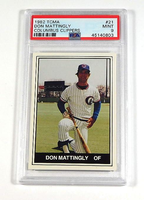 1984 Don Mattingly Columbus Clippers Minor League Card