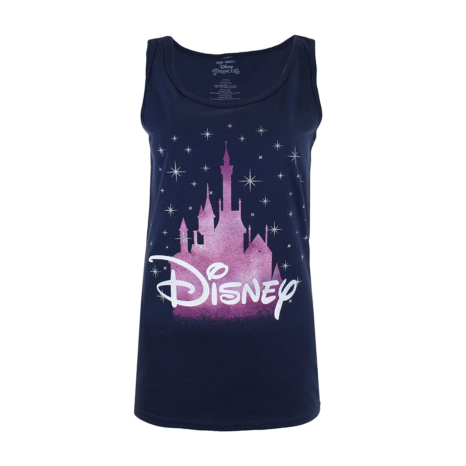 Disney Women's Castle Vest Top RBLVT055