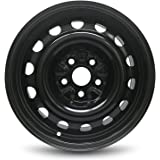 Road Ready Car Wheel For 05-18 Volkswagen Jetta 06-11 Golf 06-09 Rabbit 16 Inch 5 Lug Steel Rim Fits R16 Tire - Exact…
