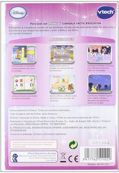 Amazon.com: Vtech Spanish - Vtech Juego MobiGo Princess - En Español: Toys & Games