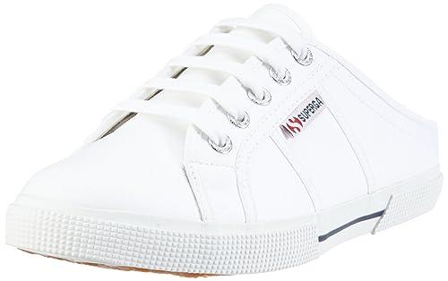 2188 Superga DonnaBiancoweißwhite CotwSneaker 90035 Eu 8n0POkwX